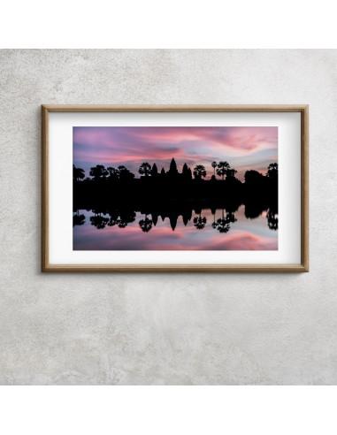 Lever de soleil sur Angkor Vat
